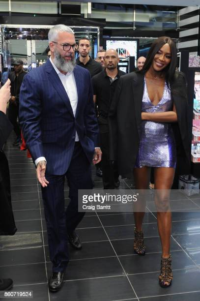Naomi Campbell attends the PAT McGRATH LABS Unlimited Edition Launch at Sephora Herald Square on October 12 2017 in New York City