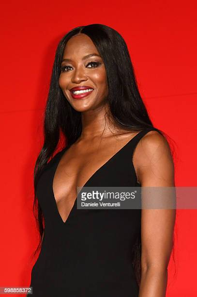 Naomi Campbell attends the premiere of 'Franca Chaos And Creation' during the 73rd Venice Film Festival at Sala Giardino on September 2 2016 in...