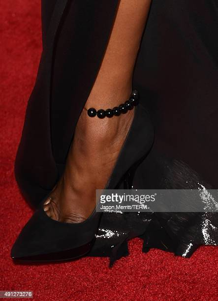 Naomi Campbell attends the premiere screening of FX's 'American Horror Story Hotel' at Regal Cinemas LA Live on October 3 2015 in Los Angeles...