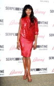 Naomi Campbell attends the The Serpentine Gallery summer party at The Serpentine Gallery on July 1 2014 in London England