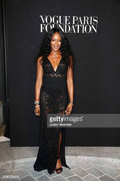 Naomi Campbell attends the Vogue Paris Foundation Gala at Palais Galliera on July 6 2015 in Paris France