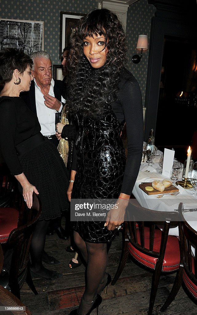 <a gi-track='captionPersonalityLinkClicked' href=/galleries/search?phrase=Naomi+Campbell&family=editorial&specificpeople=171722 ng-click='$event.stopPropagation()'>Naomi Campbell</a> attends The Weinstein Company Dinner Hosted By Grey Goose in celebration of BAFTA at Dean Street Townhouse on February 10, 2012 in London, England.