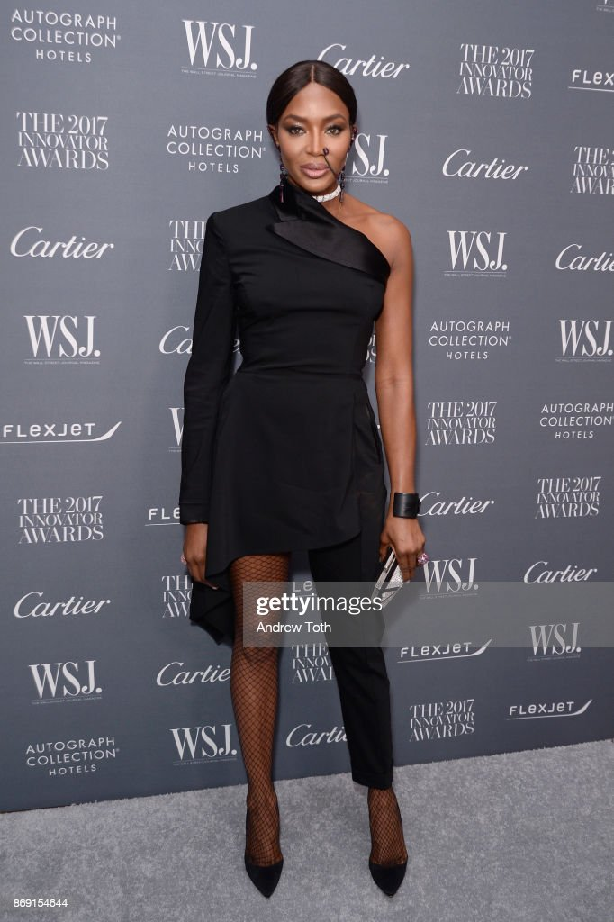 Naomi Campbell attends the WSJ. Magazine 2017 Innovator Awards at MOMA on November 1, 2017 in New York City.