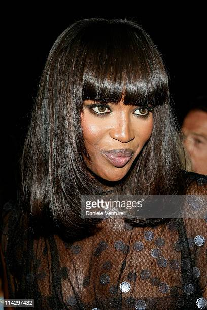 Naomi Campbell during 2007 Cannes Film Festival de Grisogono Party at Hotel du Cap in Cannes France