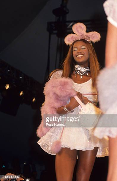 Naomi Campbell during Anna Sui Fashion Show in New York City New York United States