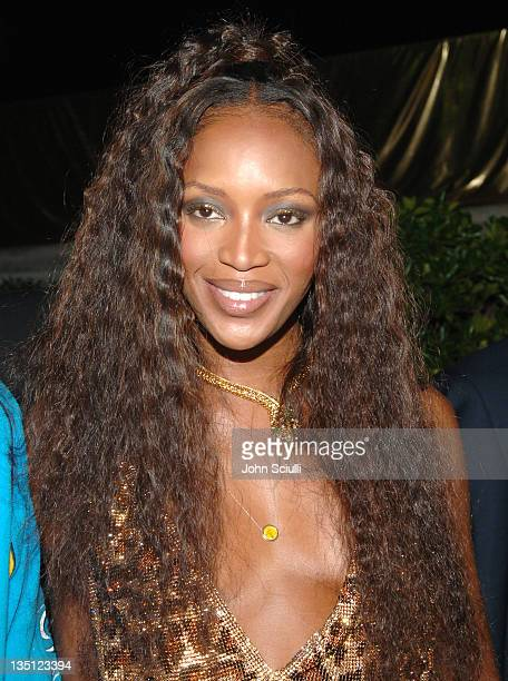 Naomi Campbell during Naomi Campbell's Le Carnival D'Or Party in Aid of The Nelson Mandela Children's Fund Party at Palm Beach in Cannes France