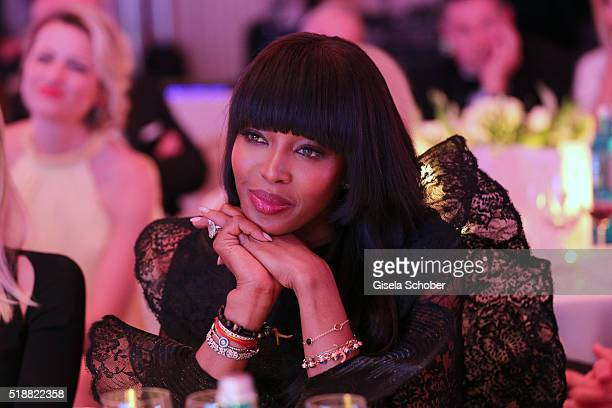 Naomi Campbell during the Gala Spa Awards on April 2 2016 in BadenBaden Germany