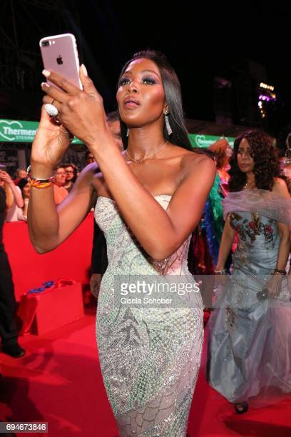 Naomi Campbell during the Life Ball 2017 at City Hall on June 10 2017 in Vienna Austria