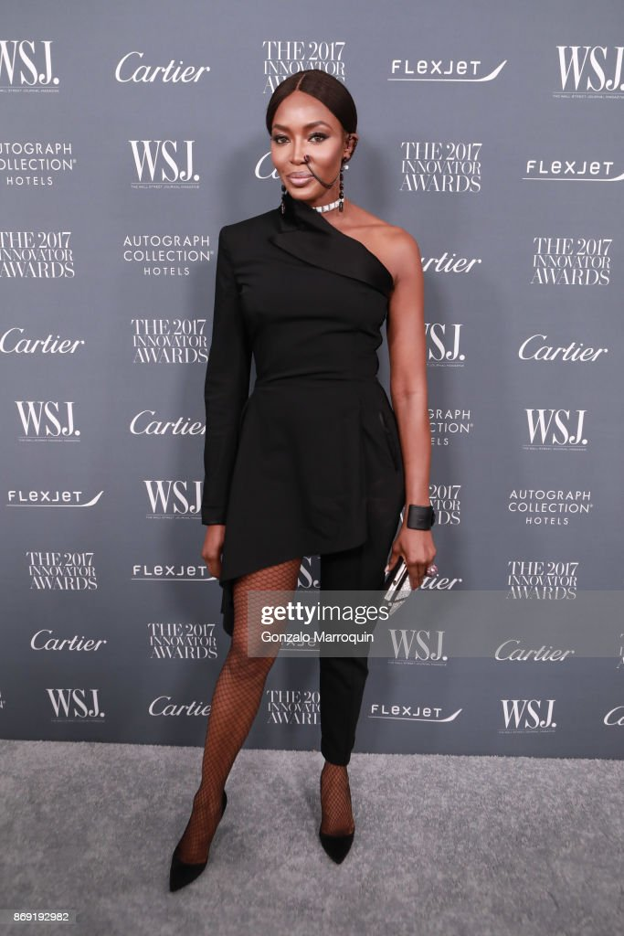 Naomi Campbell during the WSJ Magazine 2017 Innovator Awards at Museum of Modern Art on November 1, 2017 in New York City.