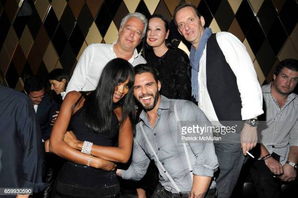 Naomi Campbell Lorenzo Martone Aby Rosen Eva Chow and Nicola Siervo attend Party at WALL Hosted by VITO SCHNABEL STAVROS NIARCHOS ALEX DELLAL at WALL...
