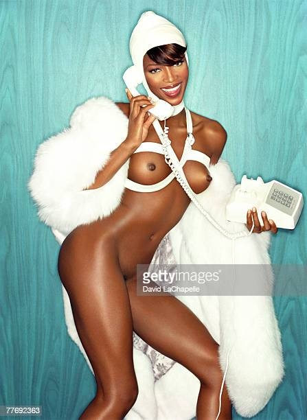 Naomi Campbell Naomi Campbell by David LaChapelle Naomi Campbell Playboy December 1 1999
