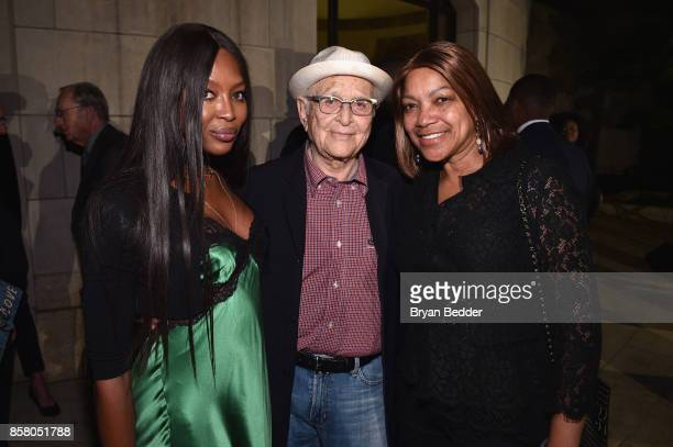 Naomi Campbell Norman Lear and Grace Hightower attend an event in NYC to celebrate People For the American Way Foundation founder and national...