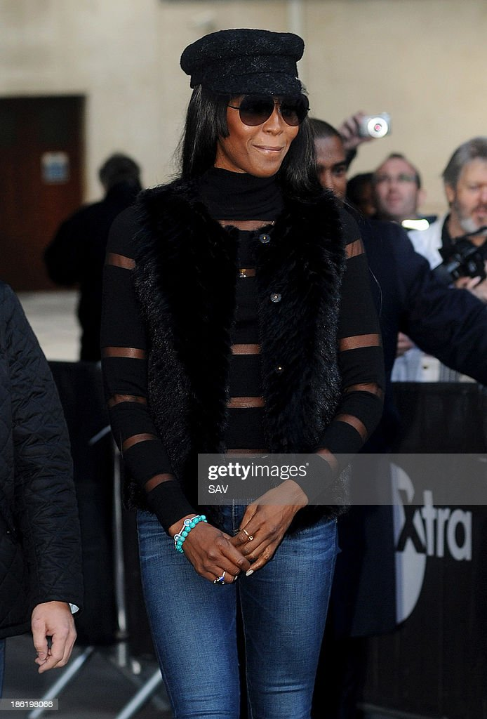 <a gi-track='captionPersonalityLinkClicked' href=/galleries/search?phrase=Naomi+Campbell&family=editorial&specificpeople=171722 ng-click='$event.stopPropagation()'>Naomi Campbell</a> pictured at BBC Radio 1 on October 29, 2013 in London, England.