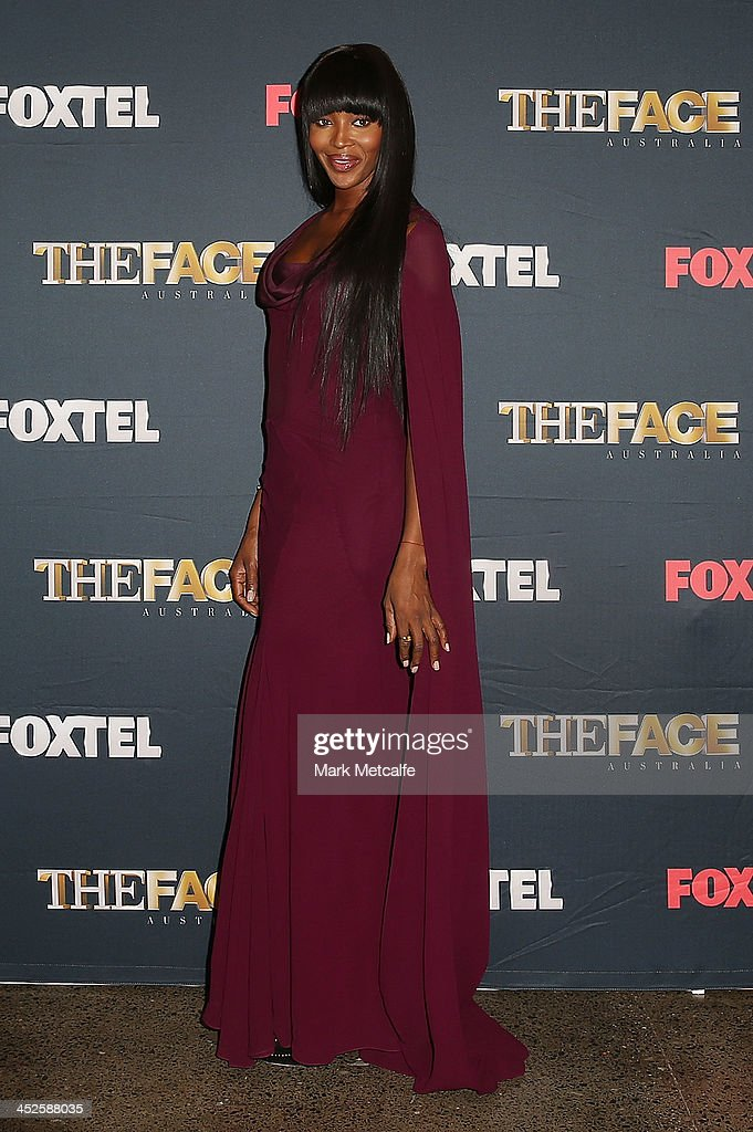 Naomi Campbell poses during a photo call for Australian TV show, 'The Face of Australia' at Carriage Works on November 30, 2013 in Sydney, Australia.
