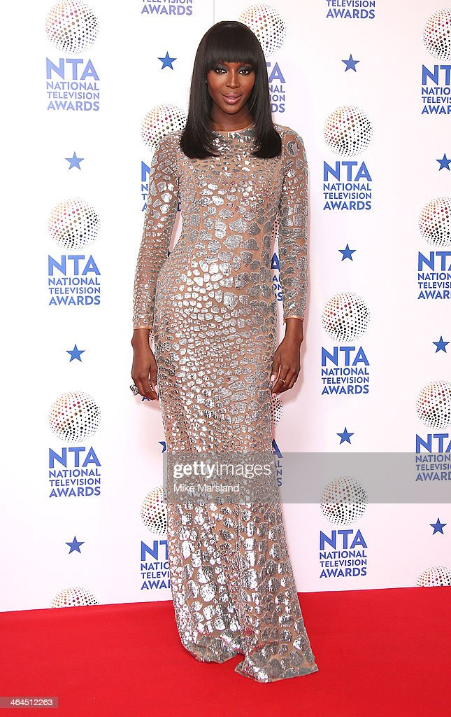 <a gi-track='captionPersonalityLinkClicked' href=/galleries/search?phrase=Naomi+Campbell&family=editorial&specificpeople=171722 ng-click='$event.stopPropagation()'>Naomi Campbell</a> poses in the winners room at the National Television Awards at 02 Arena on January 22, 2014 in London, England.