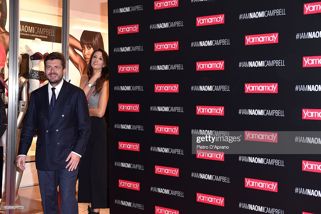 Naomi Campbell Presents New Yamamay Collection In Milan on February 7, 2016 in Milan, Italy.