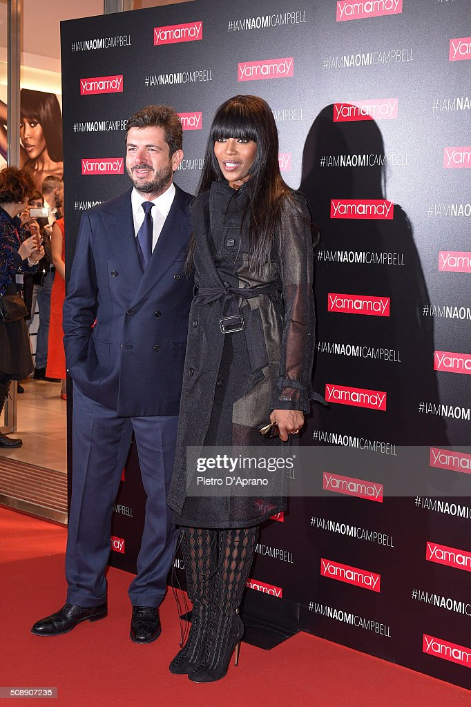 <a gi-track='captionPersonalityLinkClicked' href=/galleries/search?phrase=Naomi+Campbell&family=editorial&specificpeople=171722 ng-click='$event.stopPropagation()'>Naomi Campbell</a> Presents New Yamamay Collection In Milan on February 7, 2016 in Milan, Italy.