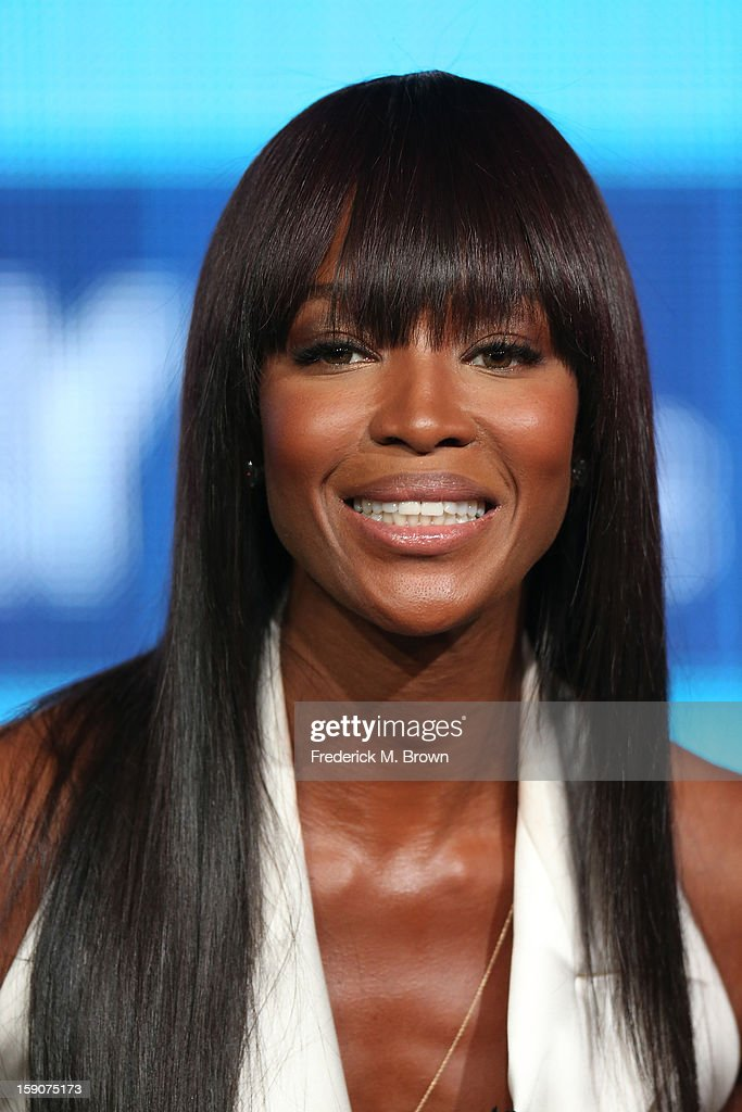 <a gi-track='captionPersonalityLinkClicked' href=/galleries/search?phrase=Naomi+Campbell&family=editorial&specificpeople=171722 ng-click='$event.stopPropagation()'>Naomi Campbell</a>, Supermodel Coach and Executive Producer speaks onstage at the 'The Face' panel discussion during the Oxygen portion of the 2013 Winter TCA Tour- Day 4 at the Langham Hotel on January 7, 2013 in Pasadena, California.