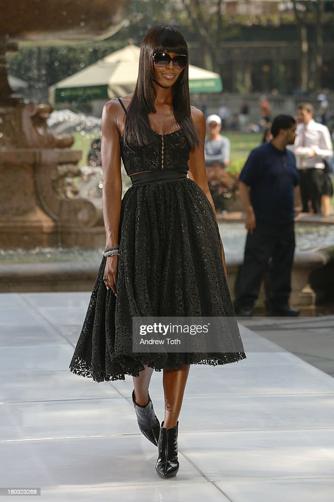 <a gi-track='captionPersonalityLinkClicked' href=/galleries/search?phrase=Naomi+Campbell&family=editorial&specificpeople=171722 ng-click='$event.stopPropagation()'>Naomi Campbell</a> takes part in the 'The Face' Season 2 Pop Up Fashion Show at Bryant Park on September 11, 2013 in New York City.