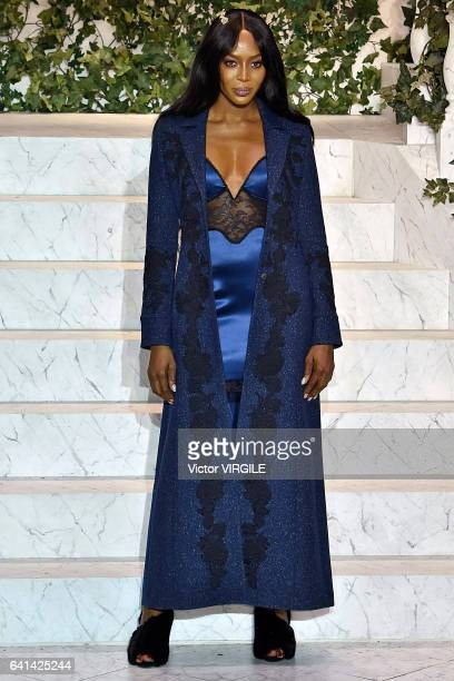 Naomi Campbell walks the runway during La Perla fashion show Fall/Winter 20172018 Ready To Wear Show on February 9 2017 in New York City