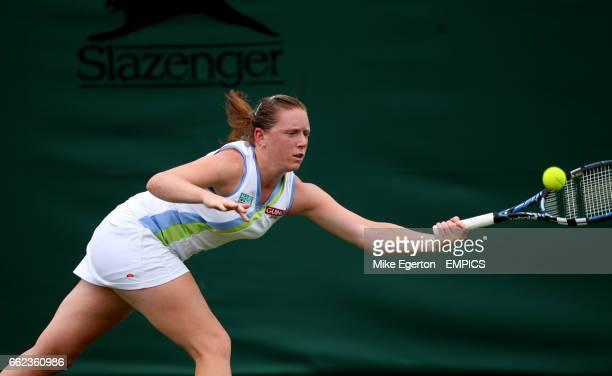 Naomi Cavadayin action against Martina Hingis