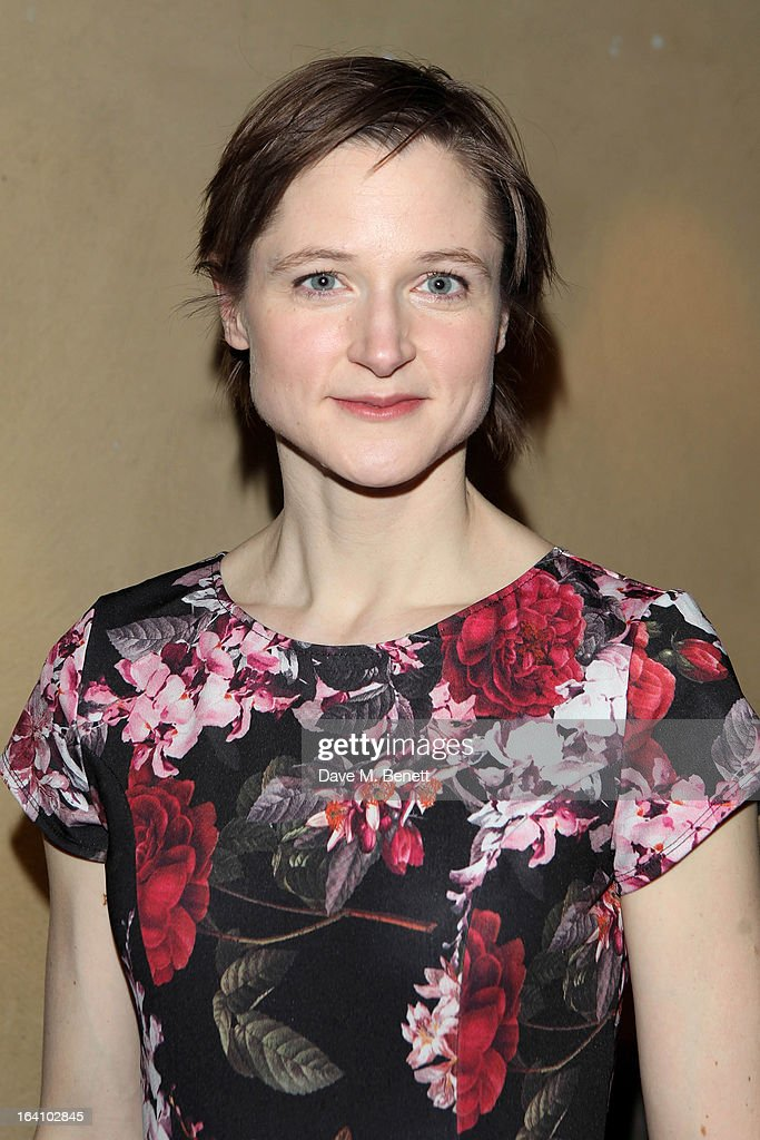 Naomi Frederick attends an after party following the press night performance of The Old Vic's 'The Winslow Boy' at Baltic Restaurant on March 19, 2013 in London, England.