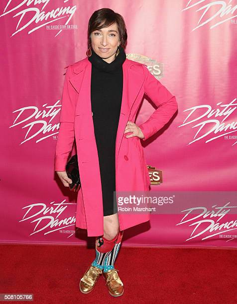 Naomi Grossman attends Opening Night Of 'Dirty Dancing The Classic Story On Stage' at the Pantages Theatre on February 2 2016 in Hollywood California