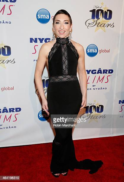 Naomi Grossman attends the Norby Walters 25th Annual Night of 100 Stars Oscar Viewing Gala at The Beverly Hilton Hotel on February 22 2015 in Beverly...