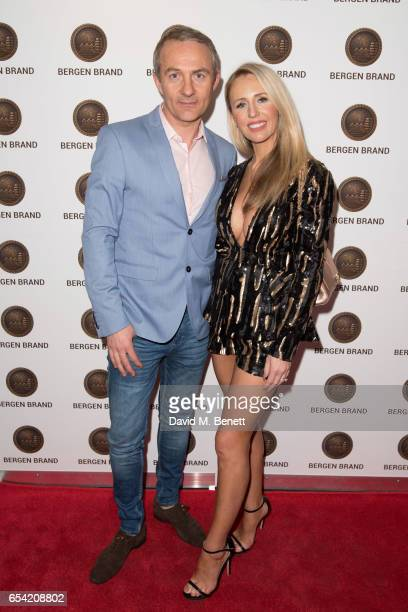 Naomi Isted and guest attend Bergen Brand Handbag Launch At Wolf Badger on March 16 2016 in London England