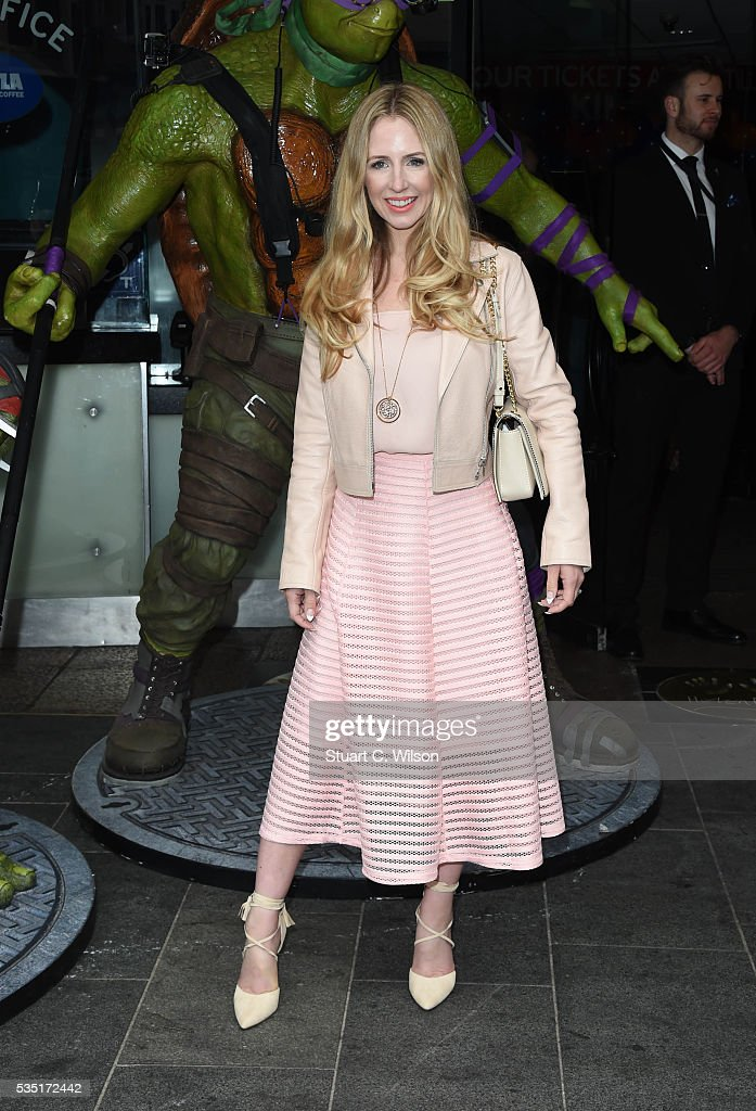 Naomi Isted arrives for the gala screening of 'Teenage Mutant Ninja Turtles: Out Of The Shadows' at Vue West End on May 29, 2016 in London, England.