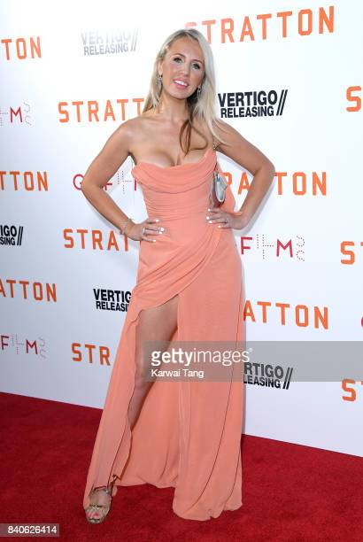 Naomi Isted attends the 'Stratton' UK Premiere at the Vue West End on August 29 2017 in London England