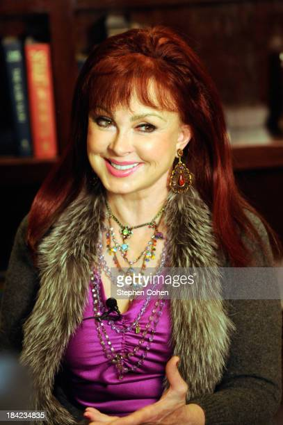 Naomi Judd attends her induction into the Kentucky Legends Hall of Fame at Down One Bourbon Bar on October 12 2013 in Louisville Kentucky