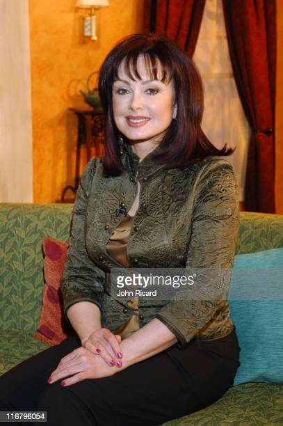 Naomi Judd during Della Reese Visits the Hallmark Channel's 'Naomi's New Morning' January 26 2007 at Metropolis Studios in New York City New York...