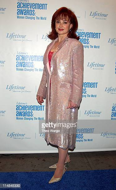 Naomi Judd during Lifetime's Achievement Awards Women Changing the World Arrivals at Manhattan Center in New York City New York United States