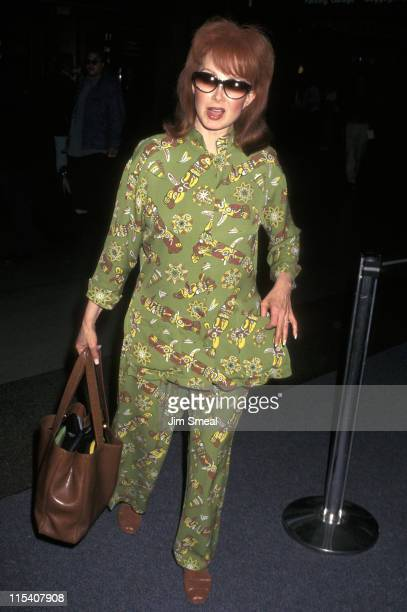Naomi Judd during Naomi Judd Departs from LAX for Nashville October 2 1997 at Los Angeles International Airport in Los Angeles California United...