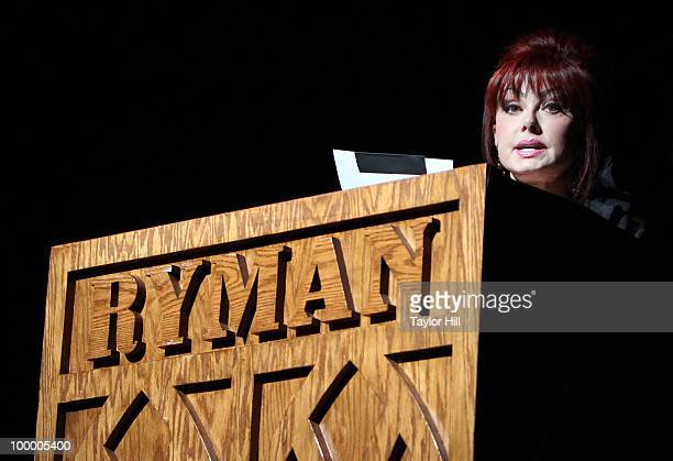 Naomi Judd performs during the Music Saves Mountains benefit concert at the Ryman Auditorium on May 19 2010 in Nashville Tennessee