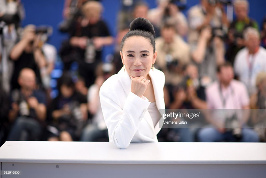 <a gi-track='captionPersonalityLinkClicked' href=/galleries/search?phrase=Naomi+Kawase&family=editorial&specificpeople=3267953 ng-click='$event.stopPropagation()'>Naomi Kawase</a> attends the Jury De La Cinefondation & Des Courts Metrages Photocall during the 69th annual Cannes Film Festival at the Palais des Festivals on May 19, 2016 in Cannes, France.