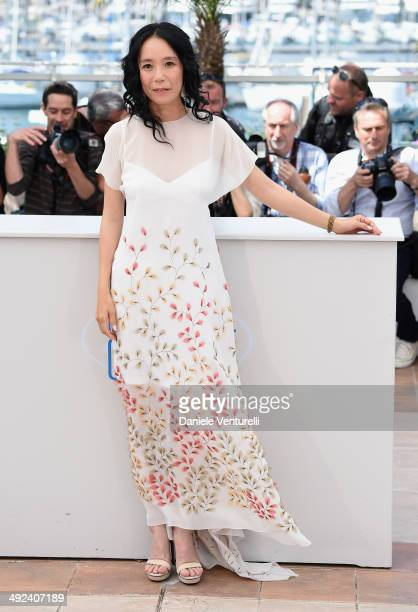 Naomi Kawase attends the 'Still The Water' Photocall during the 67th Annual Cannes Film Festival on May 20 2014 in Cannes France