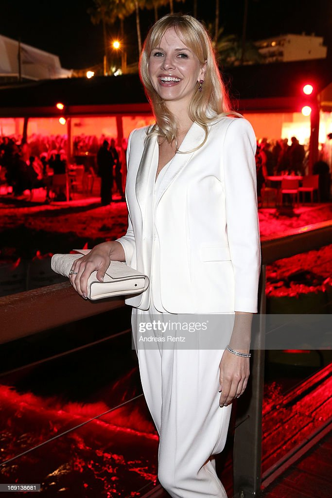 Naomi Kern attends the German Films reception during the 66th Annual Cannes Film Festival at the Majestic Beach on May 20, 2013 in Cannes, France.