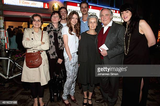 Naomi Krauss Bettina Ricklefs Fabian Feder Alice Dwyer Max von Thun Laura Waco Michael Verhoeven and Lucia Staubach attend the 'Let's Go' premiere as...