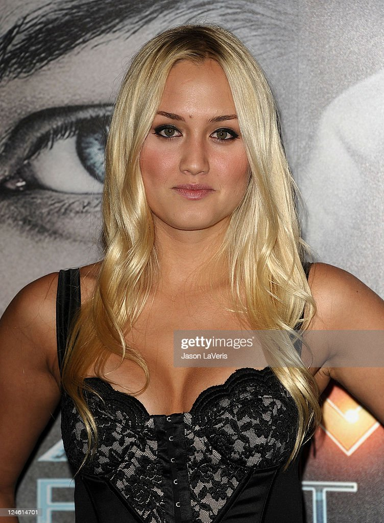 Naomi Kyle attends the 'X-Men: First Class' 3D projection party at The Roosevelt Hotel on September 8, 2011 in Hollywood, California.
