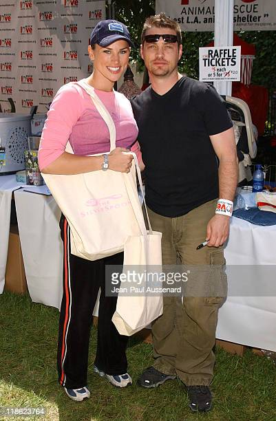 Naomi Lowde and Jason Priestley at Much Love Animal Rescue Photo by JeanPaul Aussenard/WireImage for Silver Spoon