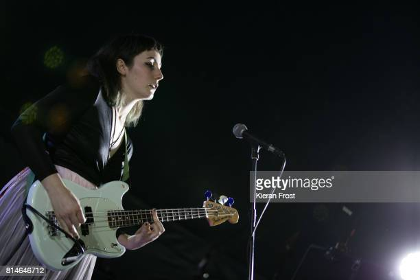 Naomi Macleod of Bitch Falcon performs at Longitude Festival at Marlay Park on July 14 2017 in Dublin Ireland