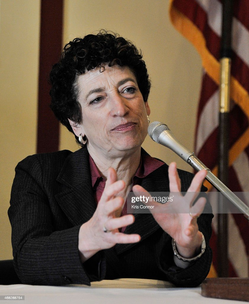 Naomi Oreskes attends the 'Merchants of Doubt' premiere at Rayburn House Office Building on April 1 2015 in Washington DC