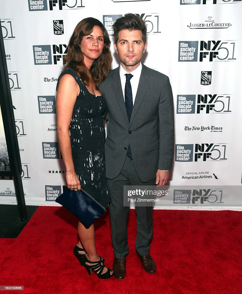 <a gi-track='captionPersonalityLinkClicked' href=/galleries/search?phrase=Naomi+Scott+-+Producer&family=editorial&specificpeople=15246195 ng-click='$event.stopPropagation()'>Naomi Scott</a> (L) and Adam Scott attend the Centerpiece Gala Presentation Of 'The Secret Life Of Walter Mitty' premiere during the 51st New York Film Festival at Alice Tully Hall at Lincoln Center on October 5, 2013 in New York City.