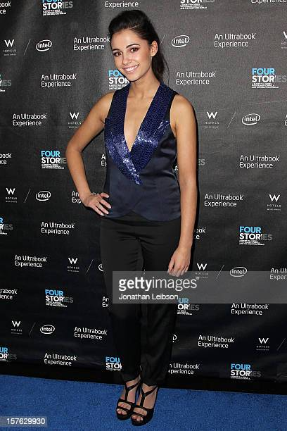 Naomi Scott attends the 'Four Stories' Los Angeles Premiere at W Los AngelesWestwood on December 4 2012 in Los Angeles California