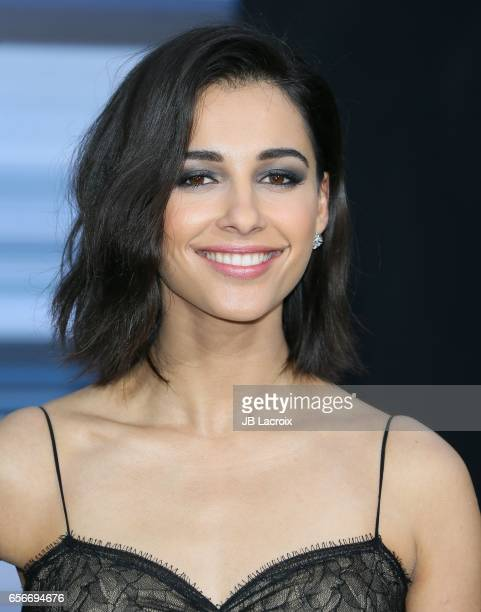 Naomi Scott attends the premiere of Lionsgate's 'Power Rangers' on March 22 2017 in Westwood California