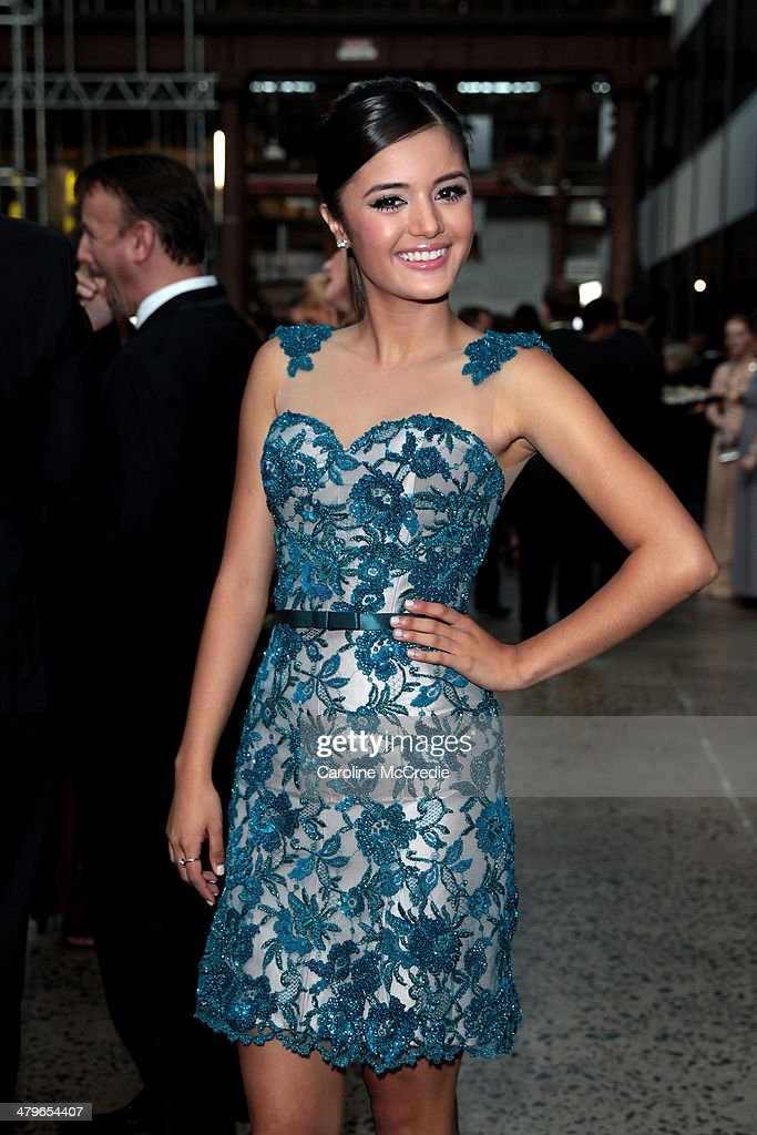 Naomi Sequeira poses during the 12th ASTRA Awards at Carriageworks on March 20, 2014 in Sydney, Australia.