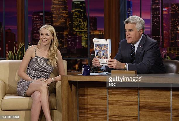 LENO Naomi Watts Air Date 3/14/08 Episode 3510 Pictured Actress Naomi Watts during an interview with host Jay Leno on March 14 2008 Photo by Paul...