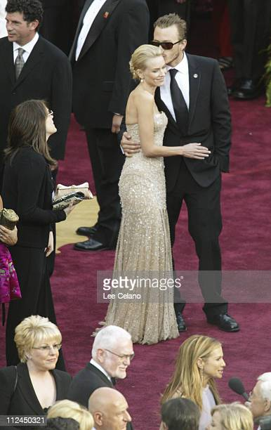 Naomi Watts and Heath Ledger during The 76th Annual Academy Awards Overhead View from The El Capitan Theatre at El Capitan Theatre in Hollywood...